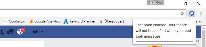 Facebook Messenger Görüldü Özelliğini Kapatma