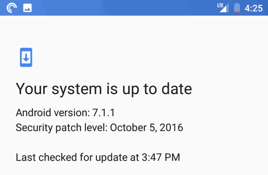 d13574db8432d5a9c5200b3926d84770eb9192d9 Android 7.1'de Bulunan Yenilikler