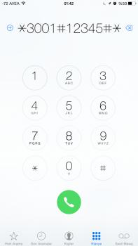 iPhone'da Sinyal Gücünü Sayılar İle Gösterme