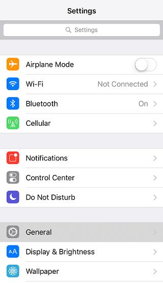 iPhone 7 Home Tuşu Titreşim Şiddeti Ayarlama