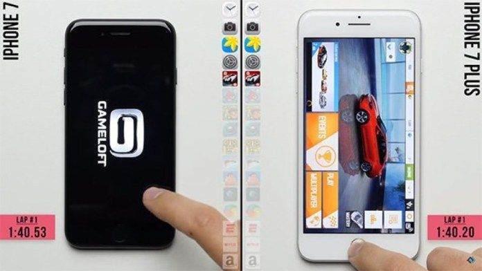 iPhone 7 ile iPhone 7 Plus Hız Testi