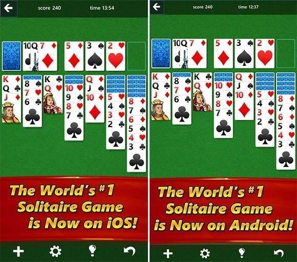 Android ve iOS İçin Solitaire İndir !