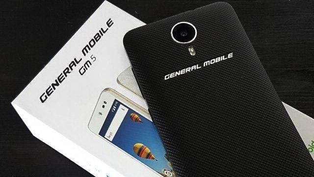 General Mobile GM 5 Teknik Özellikleri