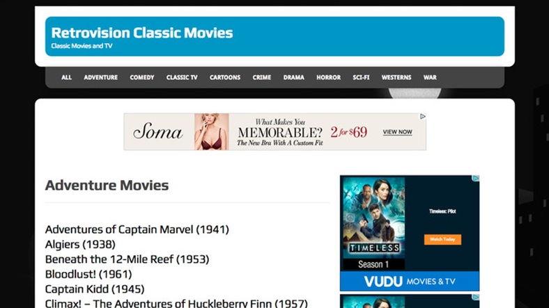 Yasal Olarak Film İzleyip İndirebileceğiniz 10 Site - Retrovision