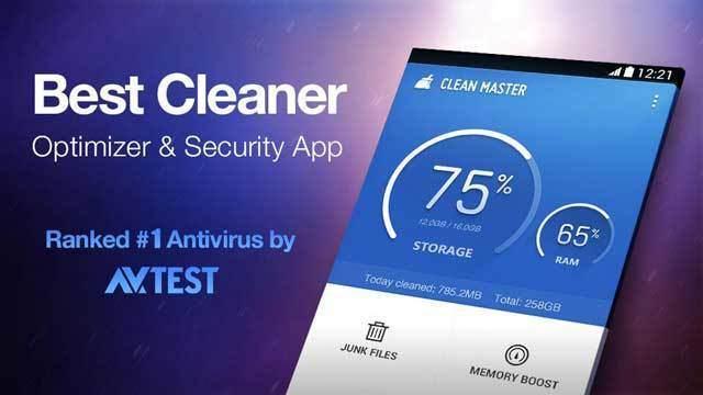 Android Performansını Arttıracak 5 Sistem Temizleme Uygulaması - clean-master