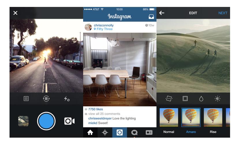 Instagram - Selfie Uygulamalar