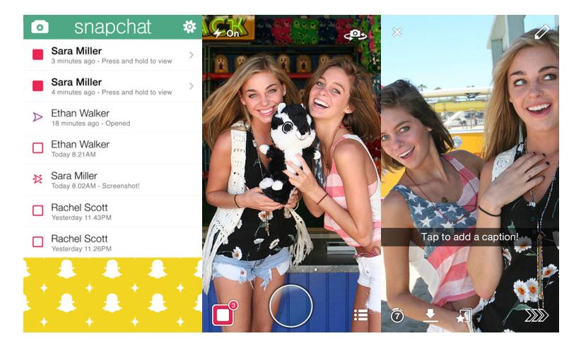 Snapchat - Selfie Uygulamalar