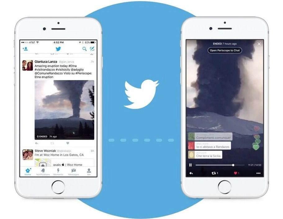 Twitter Live Video Güncellemesi ile Gelen Özellikler