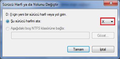 Windows Sürücü Harfi Nasıl Değiştirilir ?