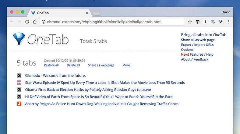 Chrome ve Firefox'un Ram Tüketimine Çare Olacak Eklenti