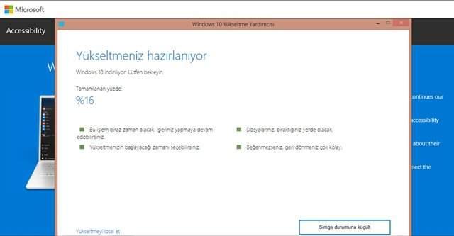 Windows 10 Ücretsiz Yükseltme Nasıl Yapılır ?