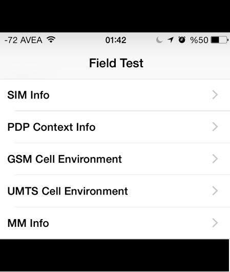 iPhone'da Şebeke Sinyal Gücünü Sayısal Olarak Gösterme Nasıl Yapılır ?