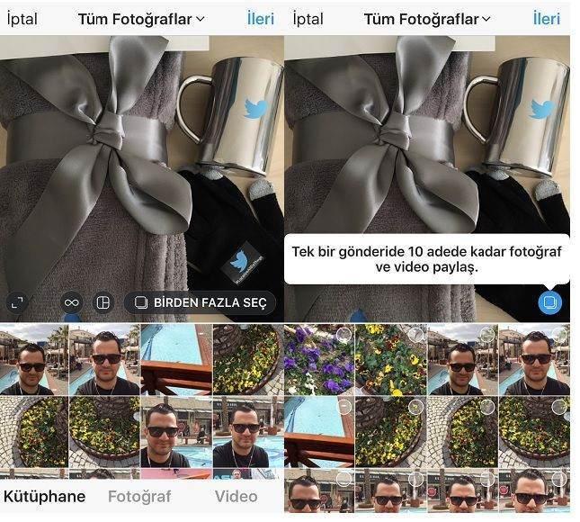 Instagram Çoklu Fotoğraf Yükleme Nasıl Kullanılır ?