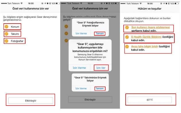 Samsung Gear S3 iPhone'da Nasıl Kullanılır