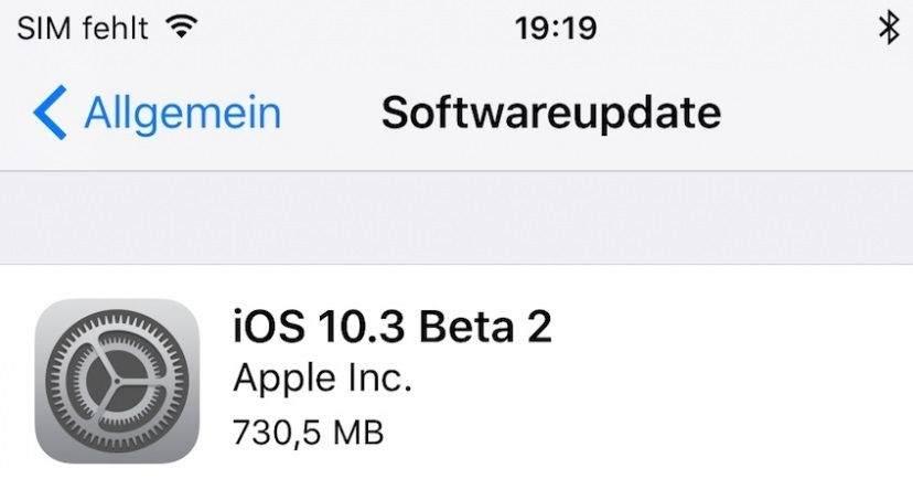 iOS 10.3 Public Beta 2 Nasıl Yüklenir ?
