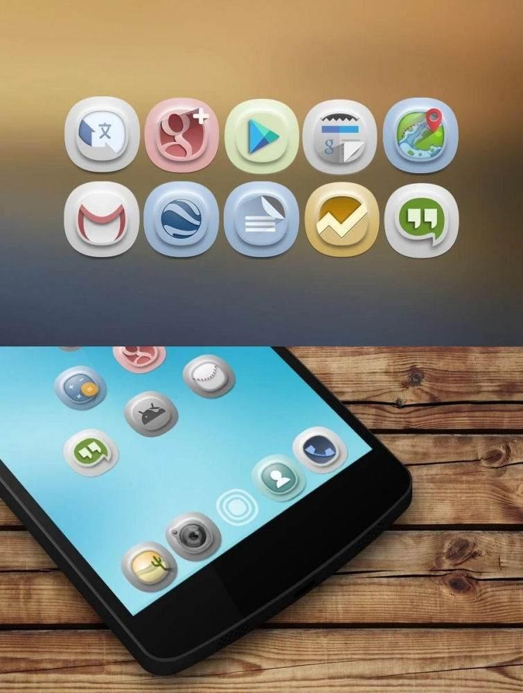 Ücretsiz Android ikon Paketleri