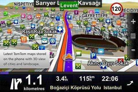 Sygic Gps Navigation 15.0.4 Türkçe + Ses TTS Full Sürüm indir