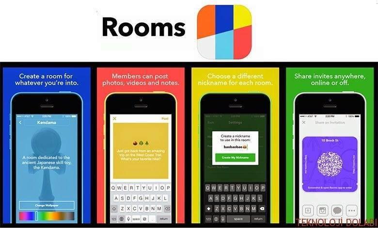 Facebook Rooms nedir? 2