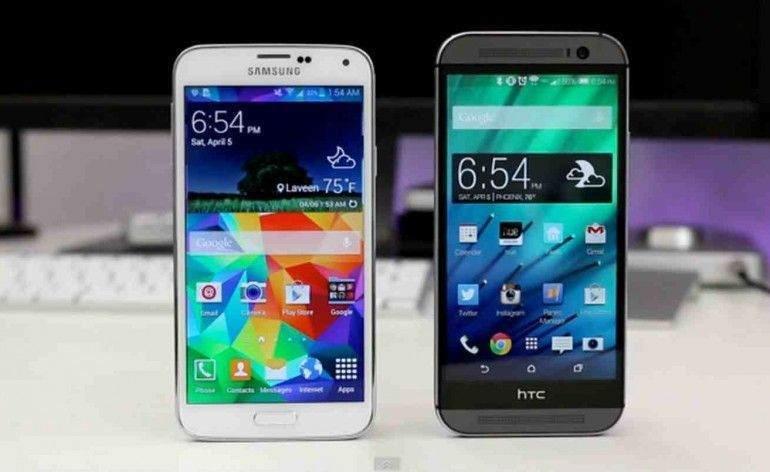 HTC One M9, Samsung Galaxy S6'a Karşı 1