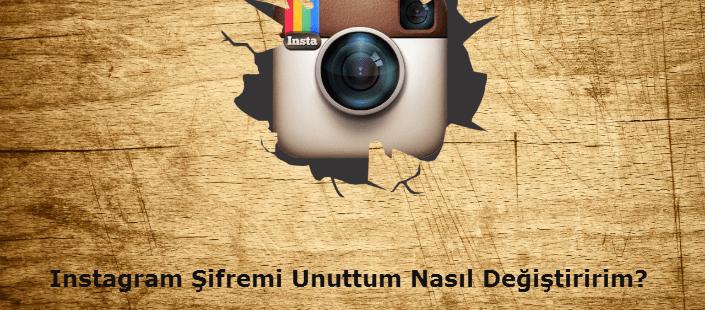 Instagram Şifremi Unuttum Nasıl Değiştiririm?