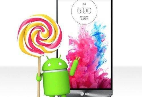 LG G3 D855 Lollipop Root