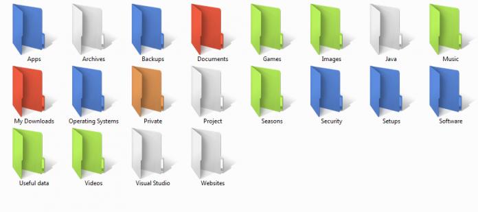 Windows'ta klasör rengi nasıl değiştirilir
