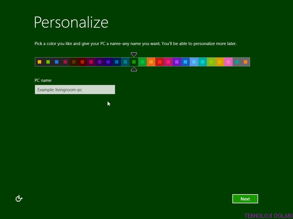 Windows 8 – 8.1 Başlangıç Ekranını Özelleştirme