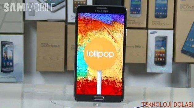 Samsung Galaxy Note 3 Android Lollipop 5.0.2 kurma rehberi