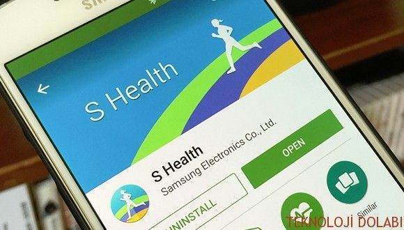 Samsung S Health Google Play'e Geldi