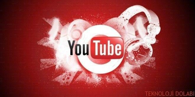 Youtube üzerinden müzik, mp3 indirmek mümkün!