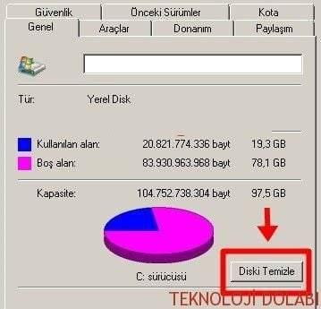 Windows Gereksiz Dosyalar Nasıl Temizlenir 1