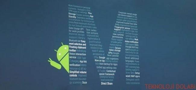 Android M İle Gelen 55 Yeni Özellik