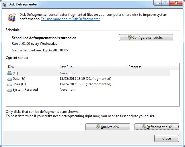 Disk Birleştirme Nedir?
