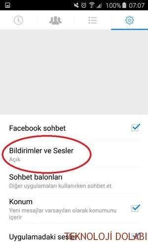 Facebook-Messenger-Bildirim-Sesi-Kapatma