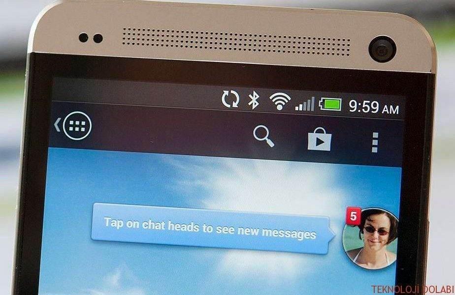 Facebook Messenger Sohbet Balonlarını Kapatmak 1