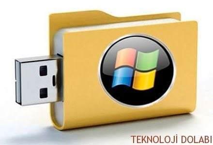 Windows'u USB Bellek İle Güvenli Kapatın