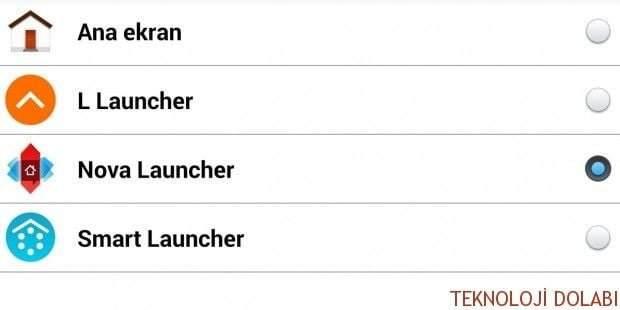 Android'de Varsayılan Launcher Uygulaması Nasıl Değiştirilir?