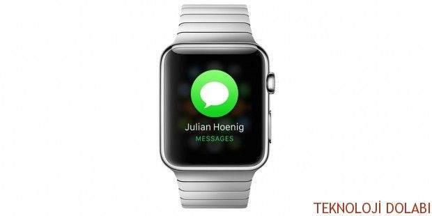 Apple Watch ile Mesaj Çekme 1