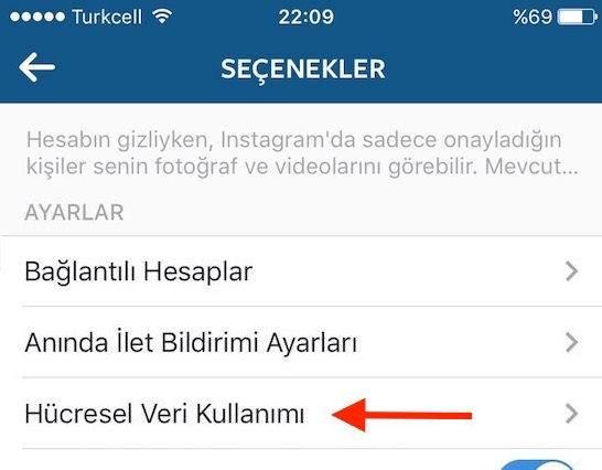 Instagram'da Videoların Otomatik Açılmasını Engellemek