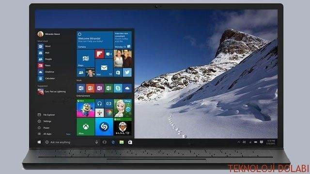 Windows 10'dan Tekrar Windows 8.1 ya da Windows 7'ye Nasıl Geri Dönüş Yapılır 1