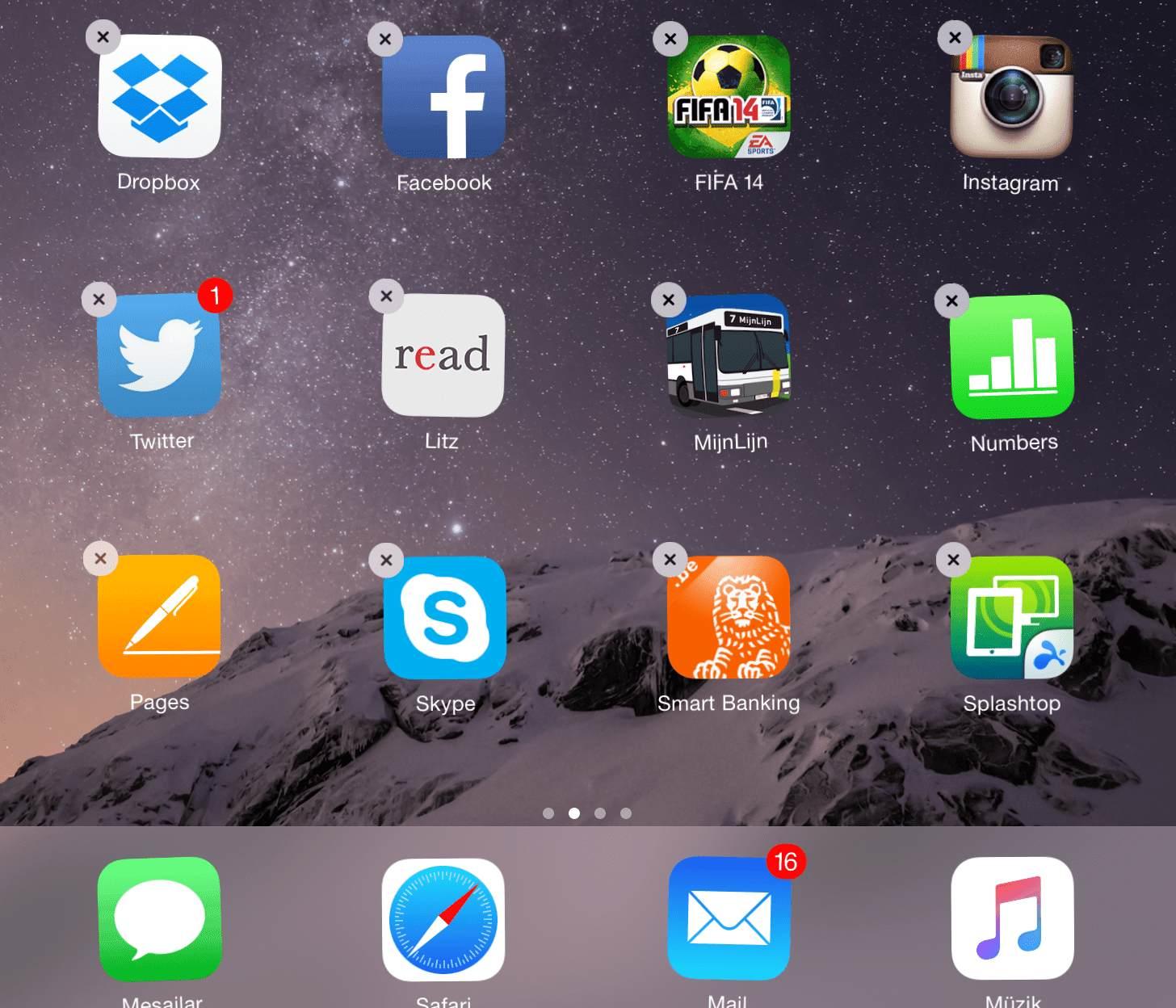iPad ve iPhone'da Klasör Oluşturmak, Silmek ve Klasörleri Yeniden Adlandırmak
