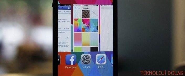 iPhone'da Arka planda çalışan uygulamaları kapatmak