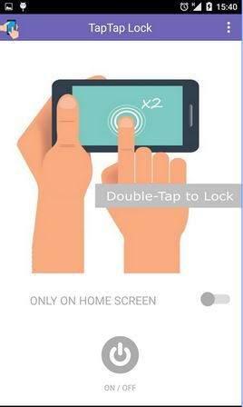 Android Ekrana Çift Dokunuş ile Kilit Açıp Kapama-TapTap Screen Lock Android