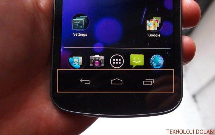 Android Telefonlara Navigasyon Çubuğu Ekleme 1