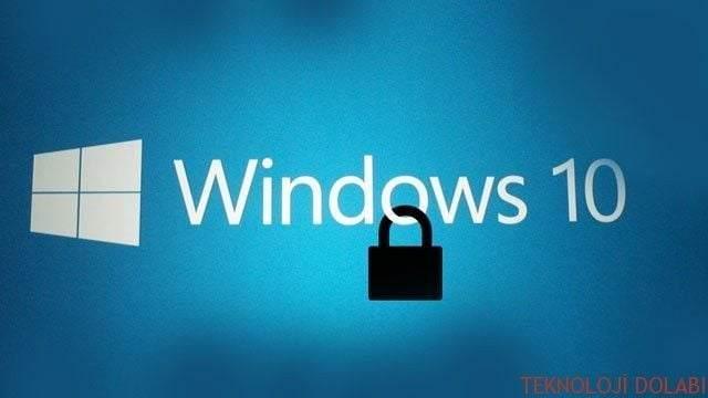 Windows 10 Oturumunu Farklı Yöntemlerle Açmak 1
