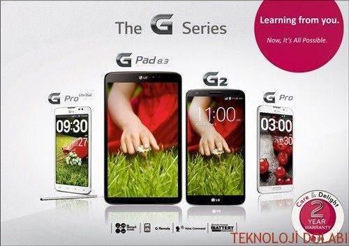 4.5G Uyumlu LG Telefonlar