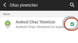 Android'de Silinmeyen Uygulamaları Kaldırmak
