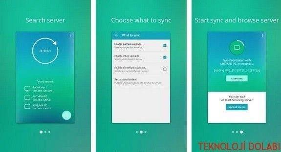 DAEMON Sync – Android Yedekleme İşlemini İnternetsiz Yapın