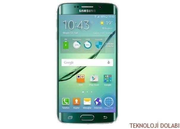 Galaxy S6 Edge kenar aydınlatma özelliği nasıl kullanılır? 1