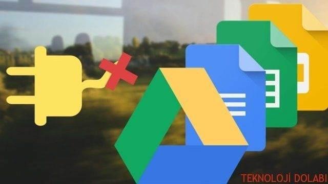 Google Dökümanlar'ı İnternet Bağlantısı Olmadan Kullanmak 1